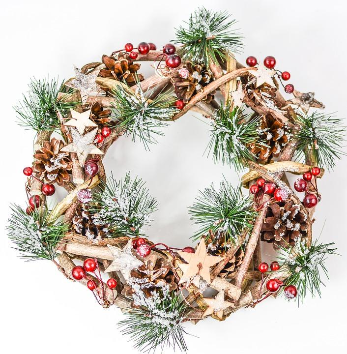 The christmas garland